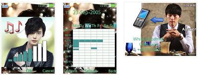 秘密花園SonyEricsson手機主題for Elm/Hazel/Yari/W20﹝240x320﹞