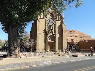 loretto chapel in santa fe new mexico