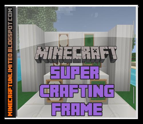 Super Crafting Frame Mod carátula
