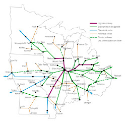 Future Midwest High Speed Rail Lines