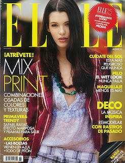 Carly Foulkes on the cover of Elle Magazine