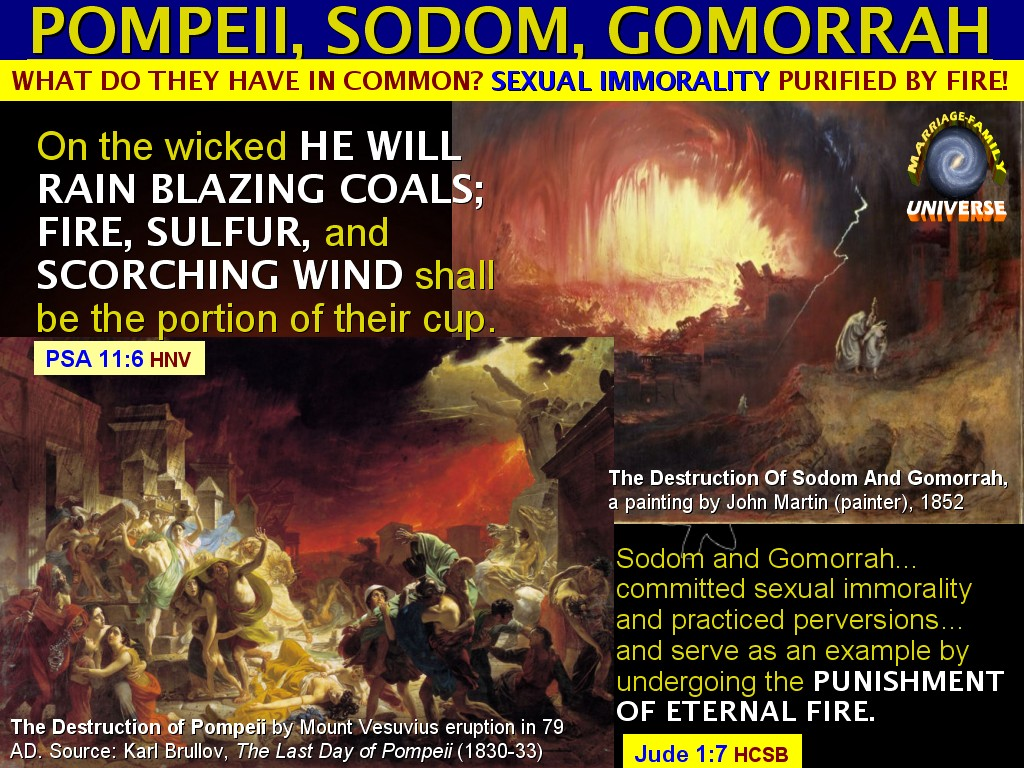 homosexuality and the story of sodom and gomorrah Does scripture refer to the events at sodom and gomorrah in such a way that it is clear whether the grave evil there was just inhospitality, or just homosexuality it does not there are some passages linking sodom to hospitality: maybe isaiah, ezekiel, matthew, mark, and luke.