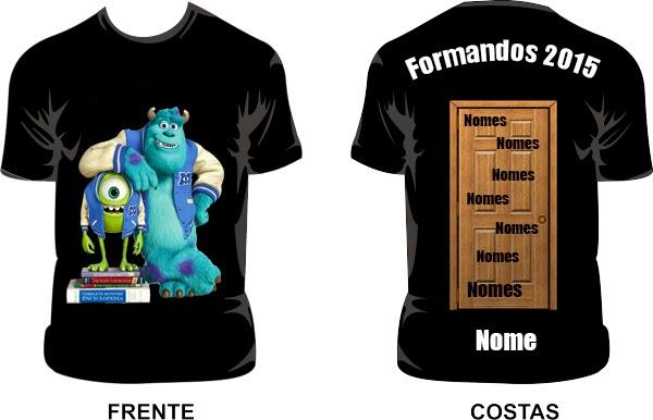 Favoritos Lumier: Ideias de camisas de formatura feitas por mim. GS33