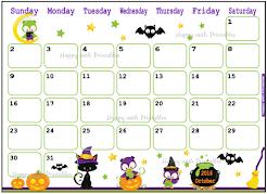 Calendar 2016 Printables