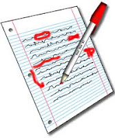 Picture of edited paper