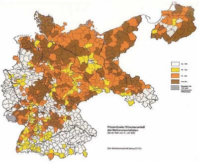 Votos Alemania Nazi