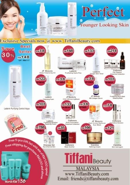 Tiffani Beauty Sales, Tiffani Beauty Malaysia Online Store, Malaysia Online Store, Online Store, Online Sales