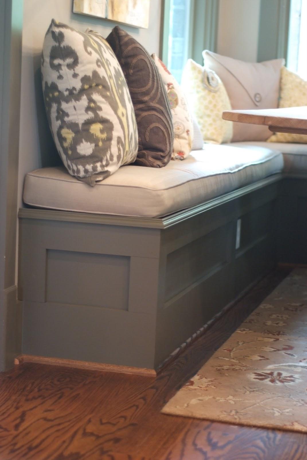 Kiwi Wood Werks & Designs: & Designs (custom breakfast nook bench)
