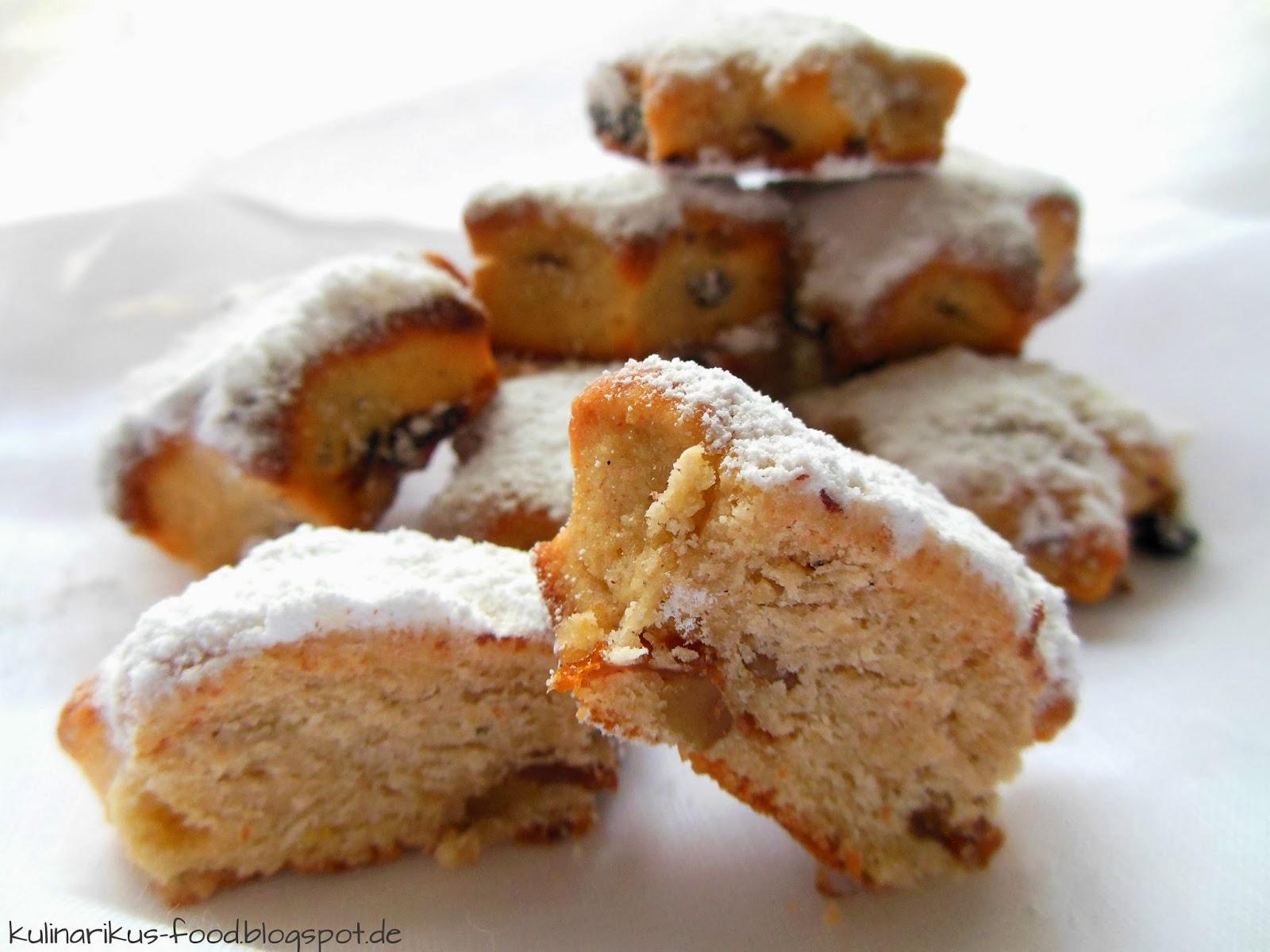 Kulinarikus: Kleine Geschenke aus der Küche: Quark-Stollenkonfekt