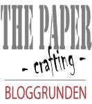 Jeg ble presentert i bloggrunden uke 16 hos The Paper Crafting