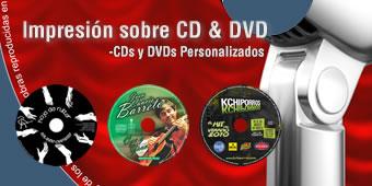 Servicio de impresión de CD, DVDs