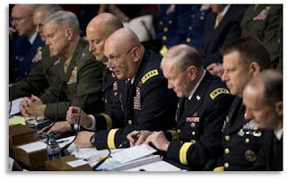 Joint Chiefs of Staff, Congressional Hearing on Military Rape