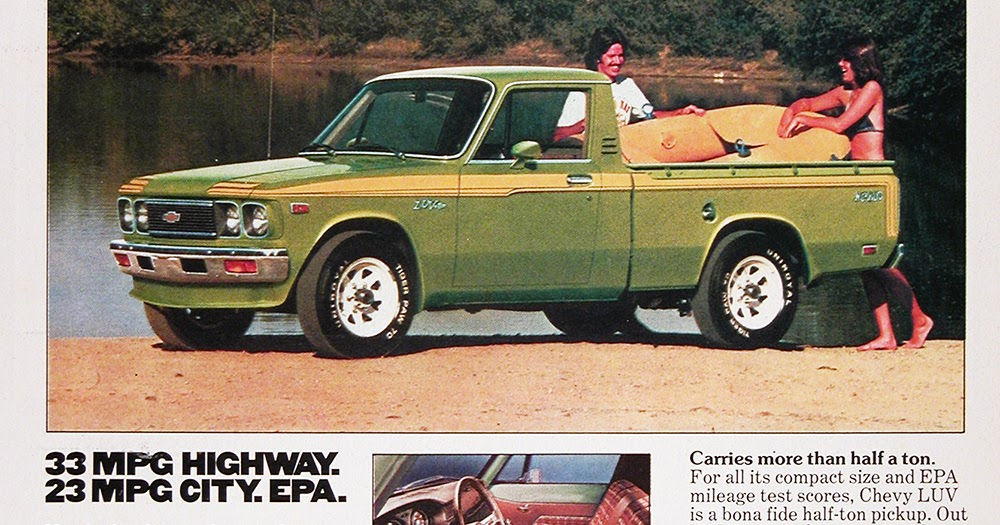 1977 Chevy Luv Truck Vintage Ad Buy It Now Vintage Ads Man