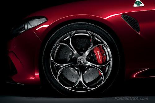 """Alfa Giulia Quadrifoglio 19"""" Alloy Wheel"""