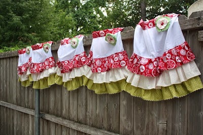 Free Christmas Aprons Pattern, Christy Robbins