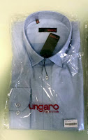 camisa azul ungaro