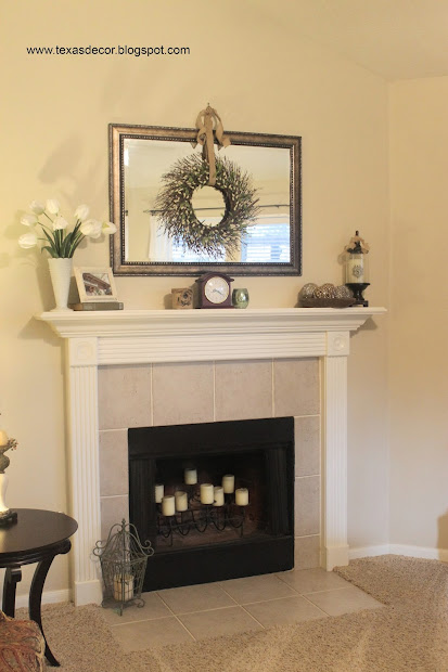Mirror above Fireplace Ideas