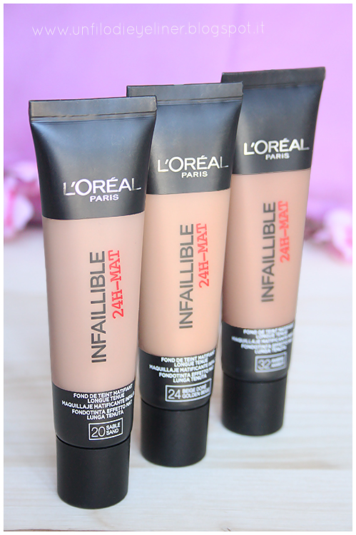 L'Oreal - Infaillible 24h Mat: Preview