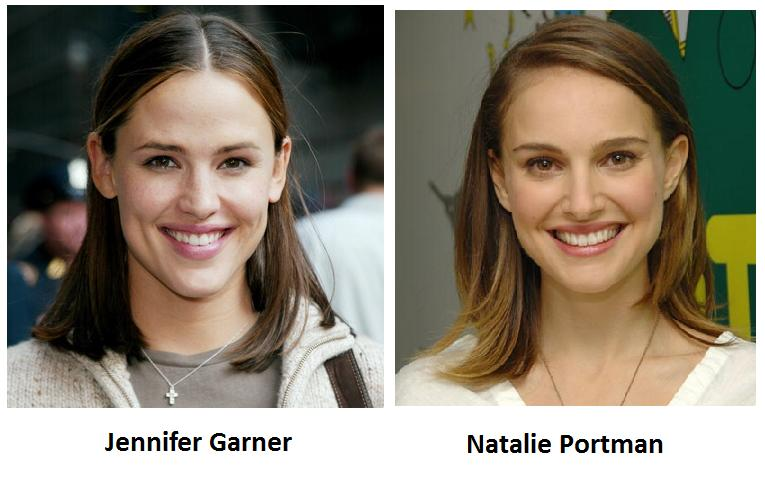 Jennifer Garner NAtalie POrtman 