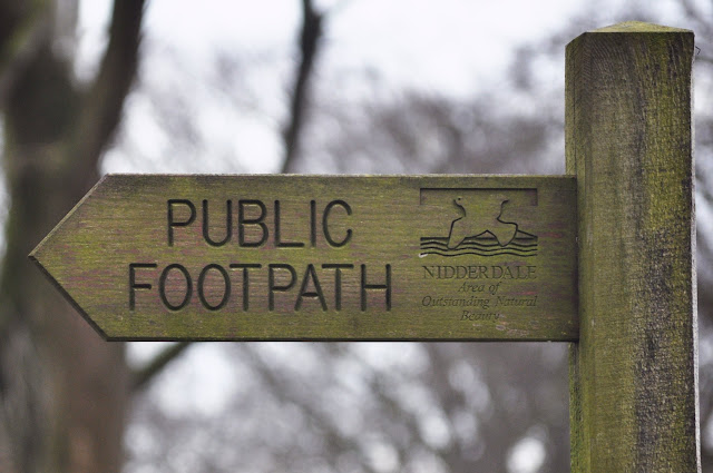 Foothpath Sign
