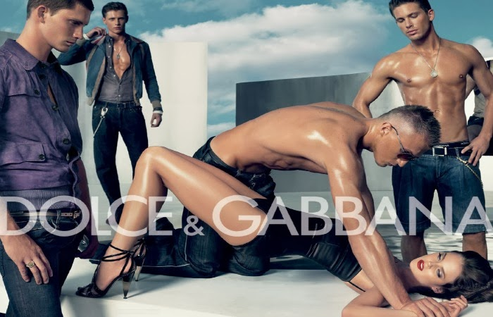 Obraz: kontrowersyjna reklama Dolce & Gabbana