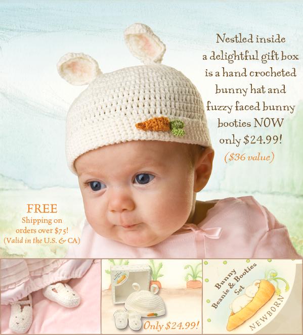 http://www.bunniesbythebay.com/shop/apparel/hats-and-headbands/bunny-beanie-and-booties-set-cream