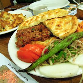 kebab plate istanbul