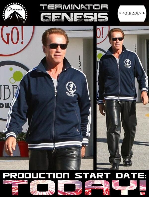 Fake Arnold Schwarzenegger en Terminator: Genesis