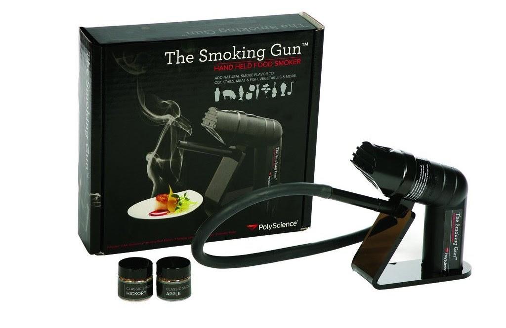 smoking gun portable food smoker by polyscience indian innovates