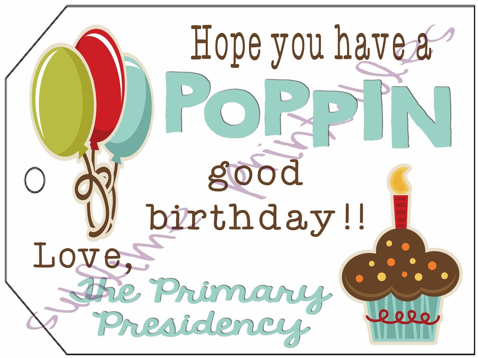 2013 lds primary birthday handouts | just b.CAUSE