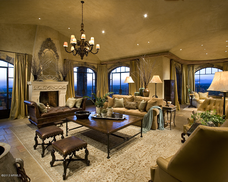 A Glamourous Spanish Style Mansion