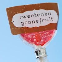 Sweetened Grapefruit Lollipops