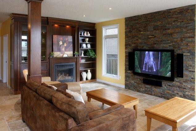 Фото дизайна квартир с декоративным камнем