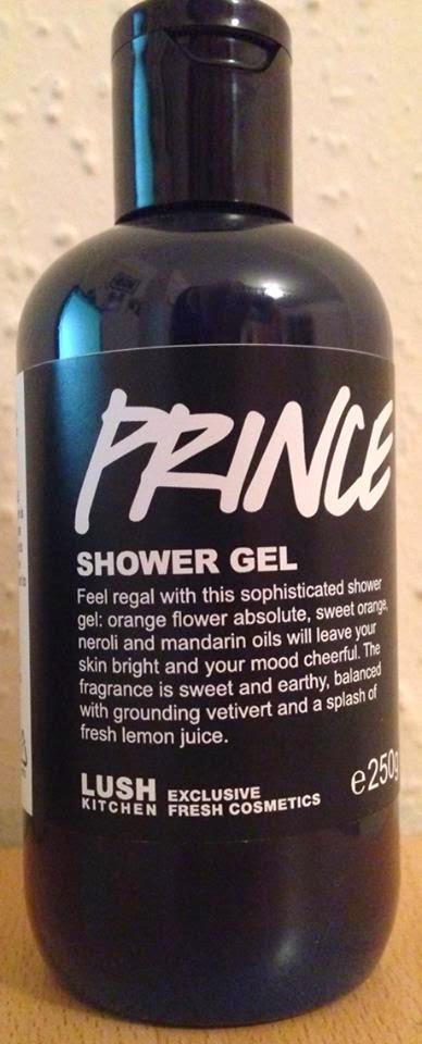 all things lush uk: prince shower gel