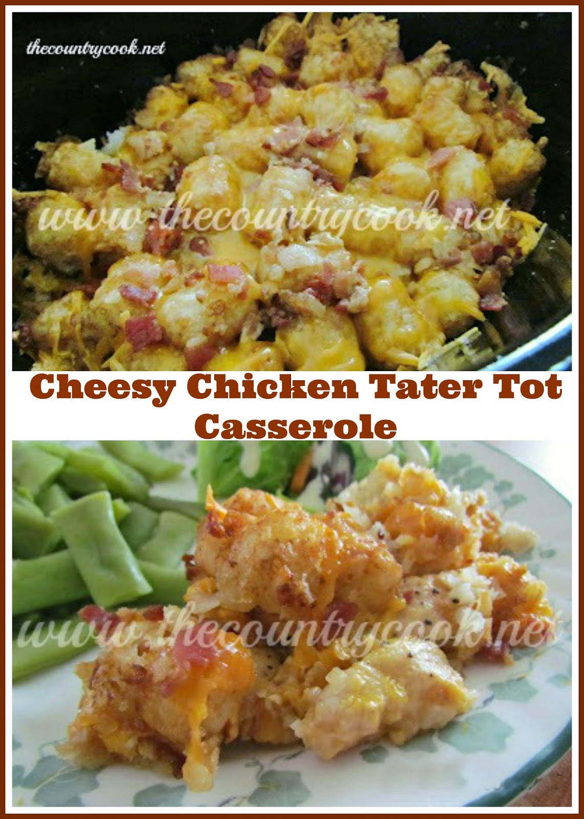 cheesy potato tots with cheesy tater tot casserole cheesy potato tots ...