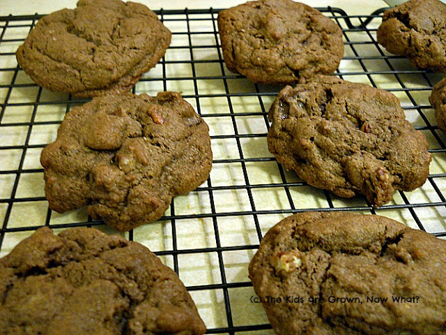 Gluten Free Triple Chocolate Chunk Cookies