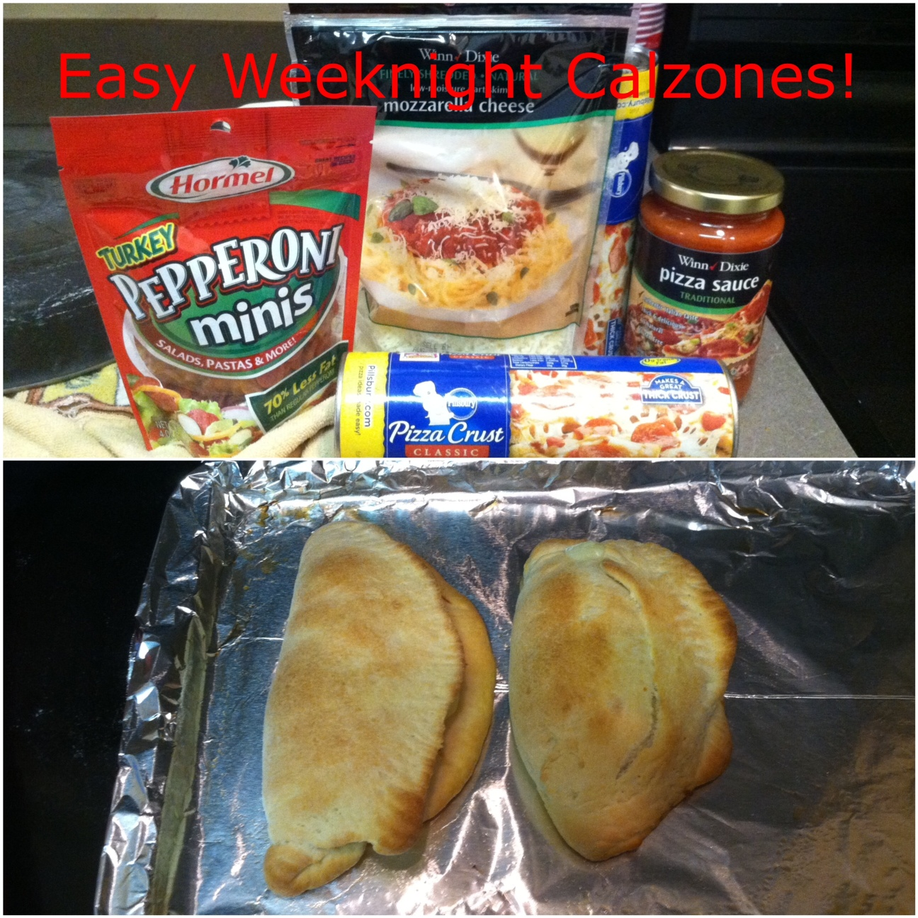 unBearablyGood: Easy Weeknight Calzones