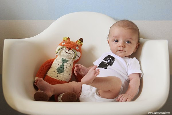 Image bébé garçon 2 mois