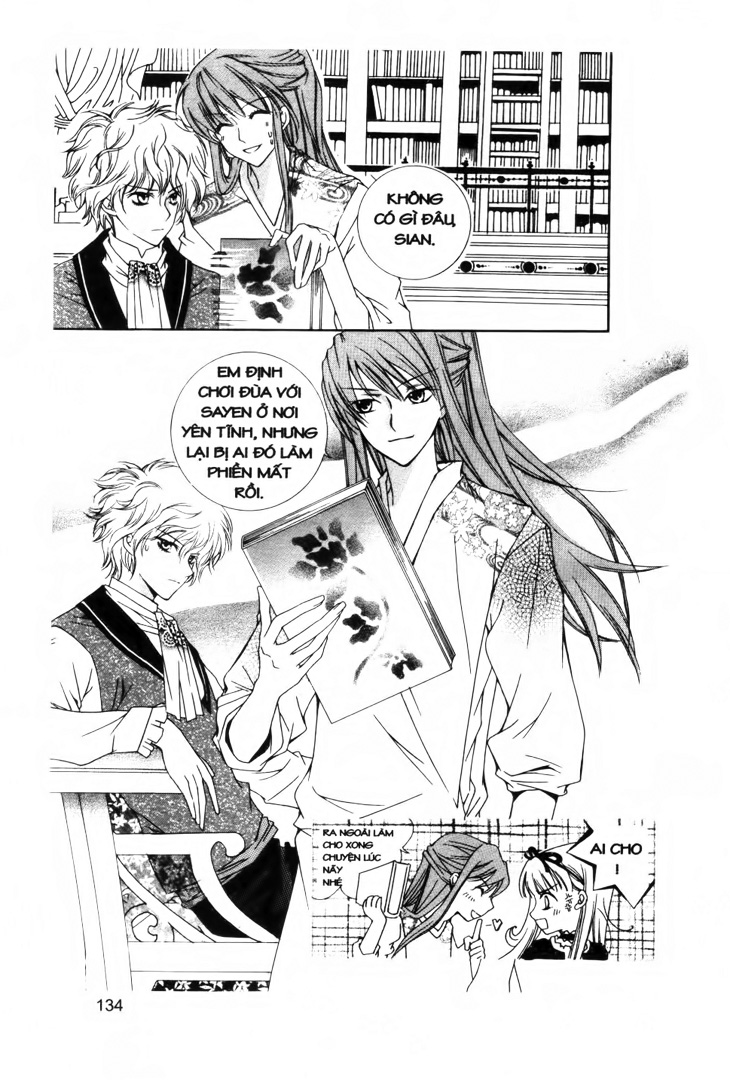 A Kiss For My Prince - Nụ Hôn Hoàng Tử Chapter 10 - Trang 2