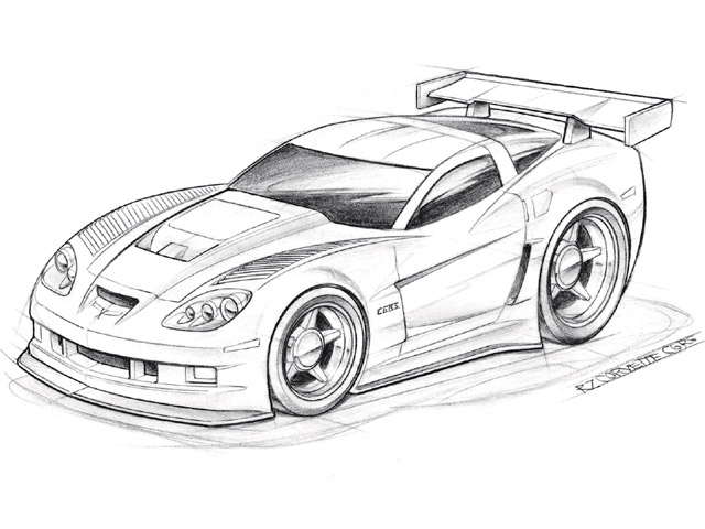 auto car new car  car drawings