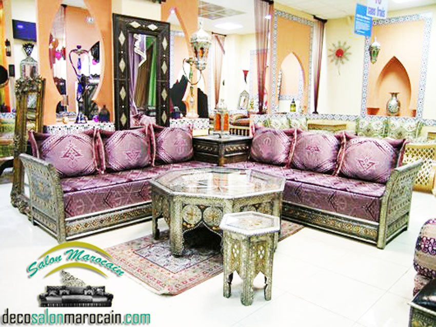 salon marocain moderne - Photo Salon Arabe