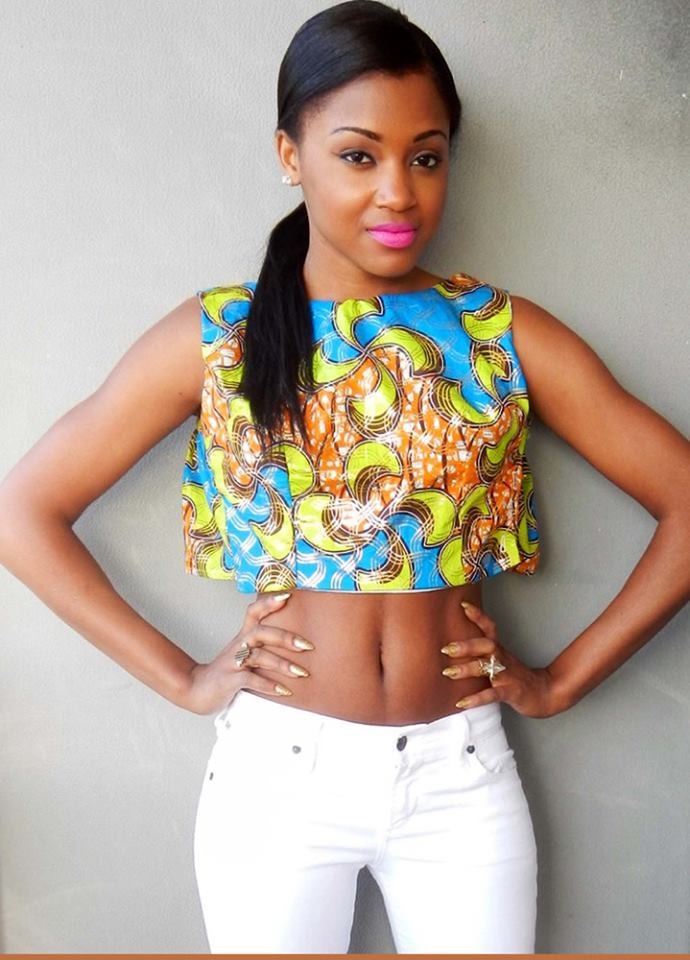 Ankara skirt and crop top new style for 2016 2017