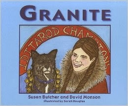 http://www.amazon.com/Granite-Susan-Butcher/dp/0975402927/ref=sr_1_1?ie=UTF8&qid=1392080078&sr=8-1&keywords=susan+butcher
