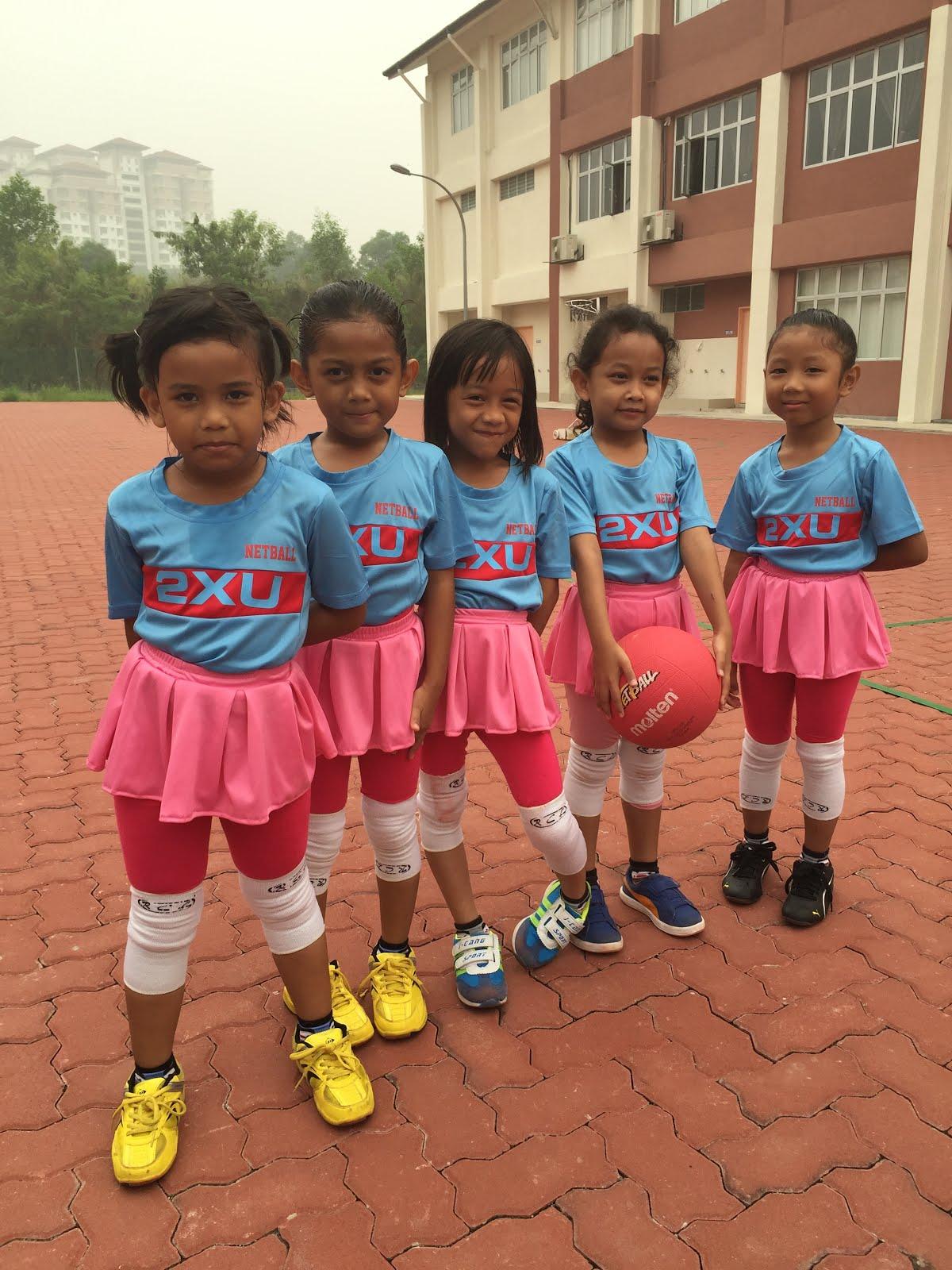 Pasukan Bola Jaring Prasekolah 2015