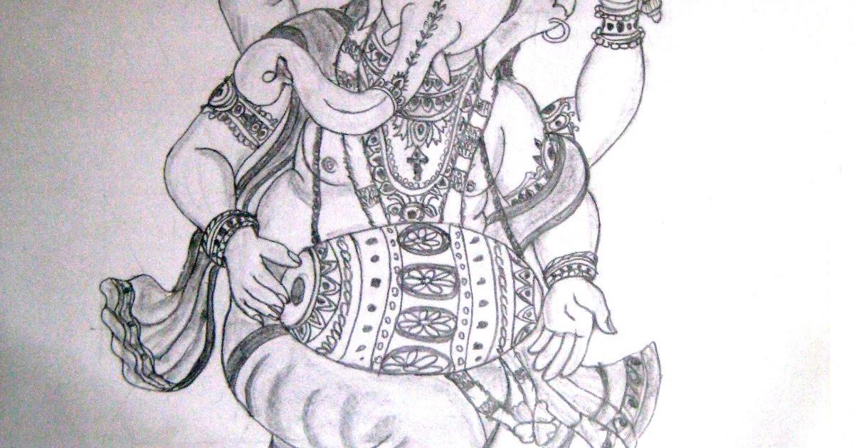 Varthini blog varthini arts lord vinayagar drawing