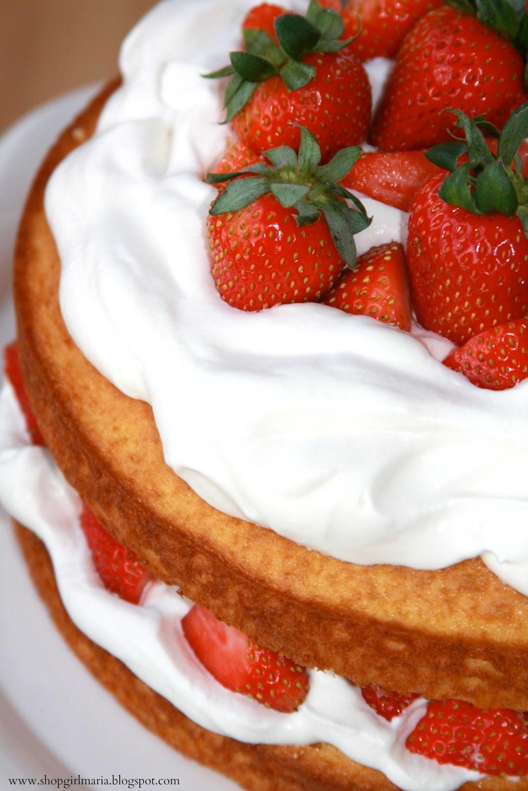 Strawberry Layer Cake A Homemade Living