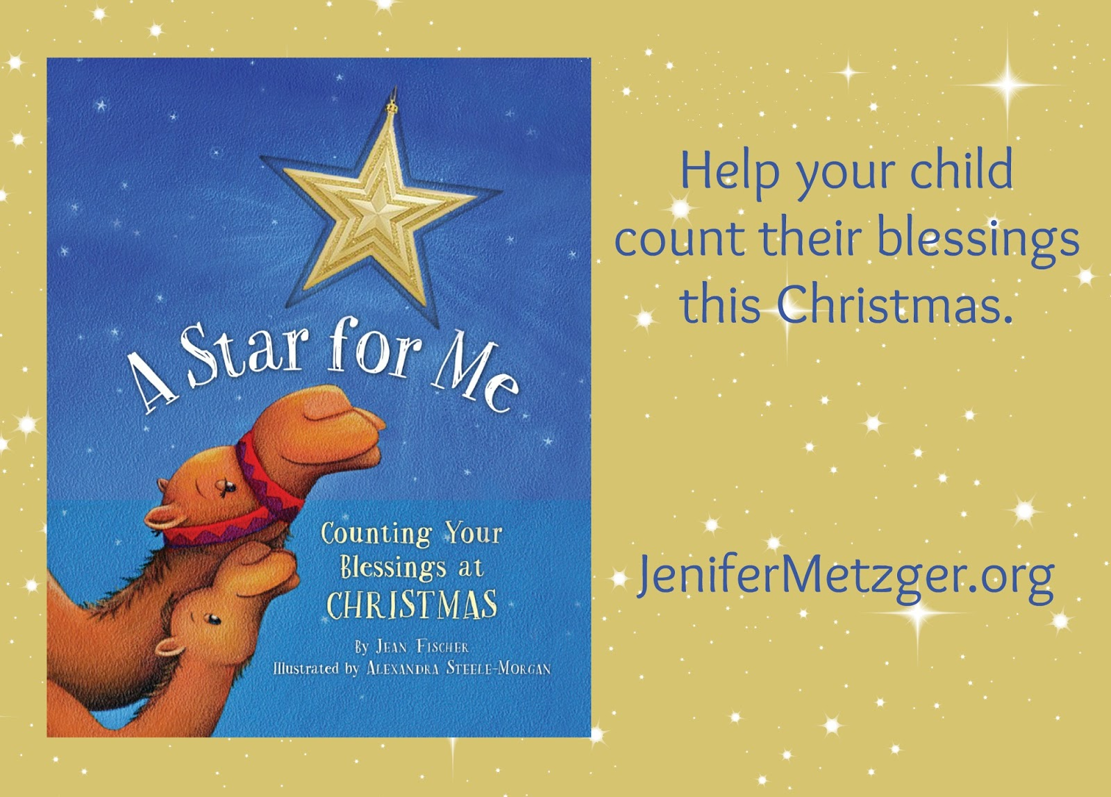 Help your child count their blessings this Christmas.