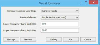 audacity vocal remover