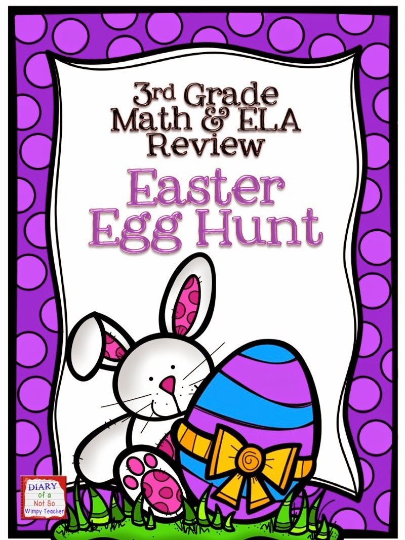 Diary of a Not So Wimpy Teacher: Classroom Easter Egg Hunt