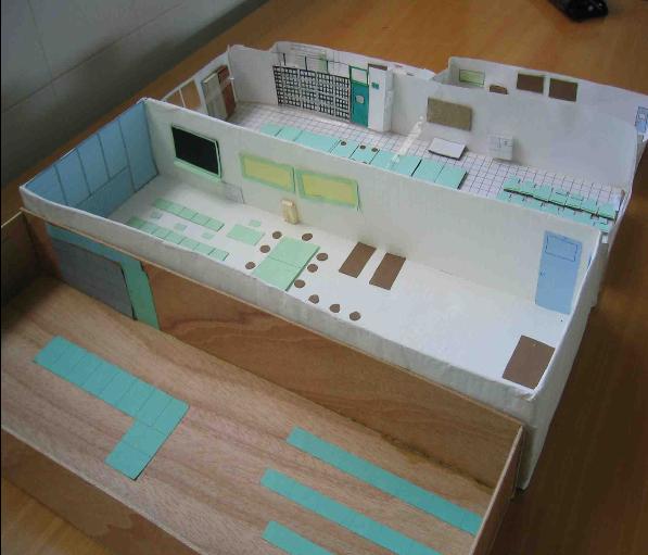 Ingenioblog ies santo reino maquetas te atreves a for Materiales para hacer un piso